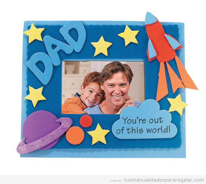Father's Day Craft Picture Frame
