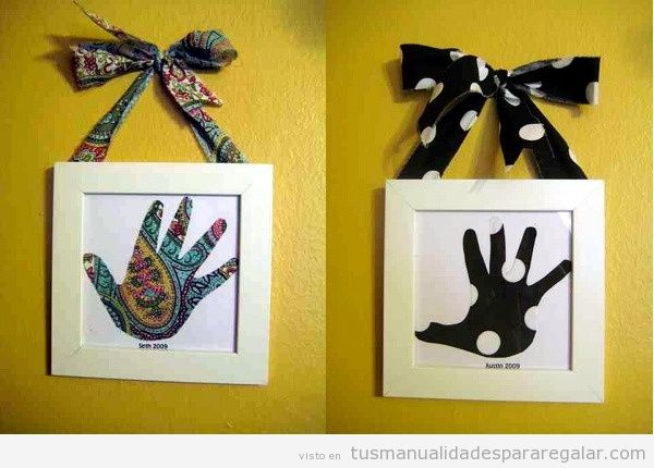 Ideas de regalaros hechos a mano para El día de la madre