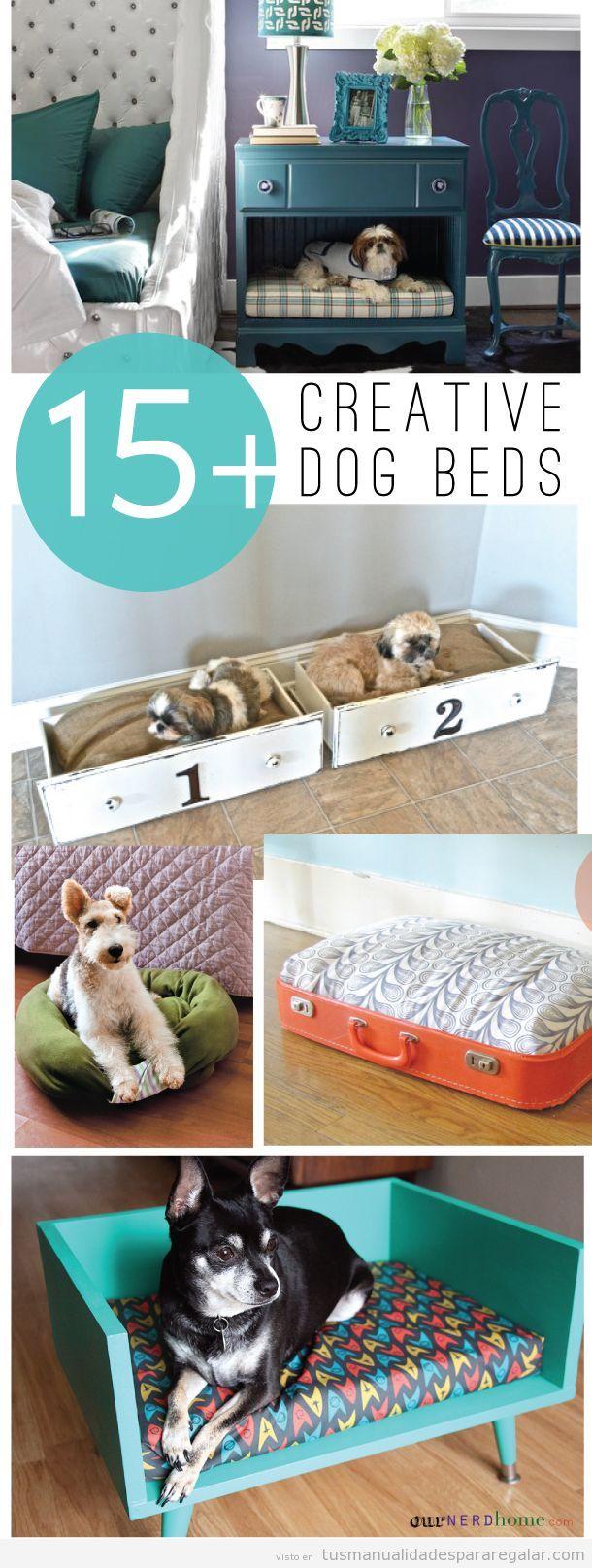 Ideas originales, camas DIY para perros