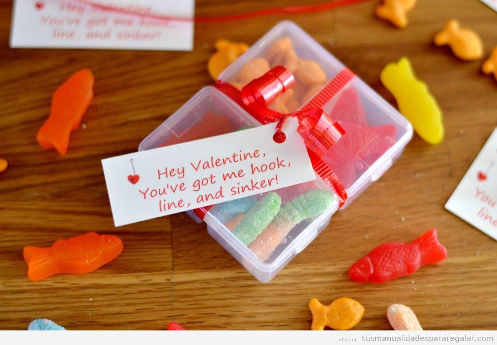 Regalo hecho a mano para San Valentín