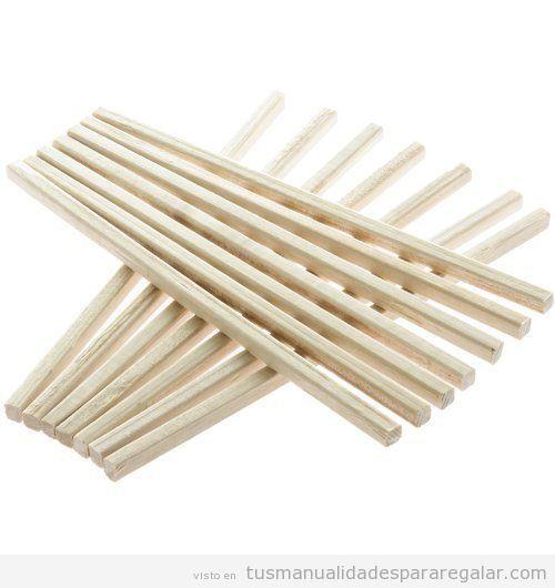 Palos cuadrados madera para manualidades, comprar online