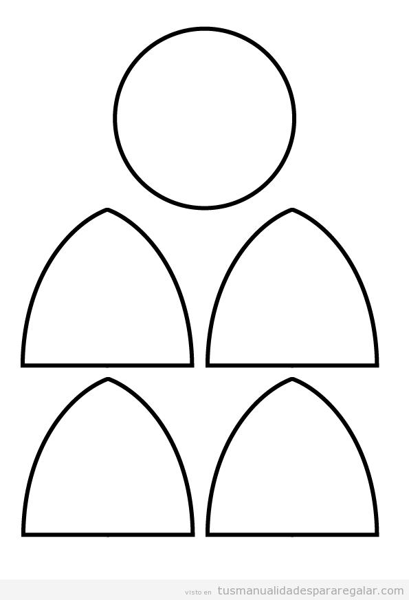 Patrón peluche de tela grande