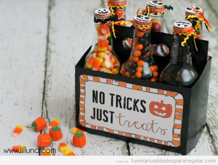Manualidades regalar a amigos en Halloween