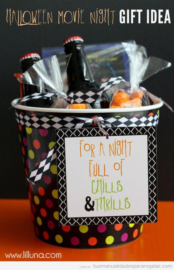 Manualidades regalar a amigos en Halloween 3