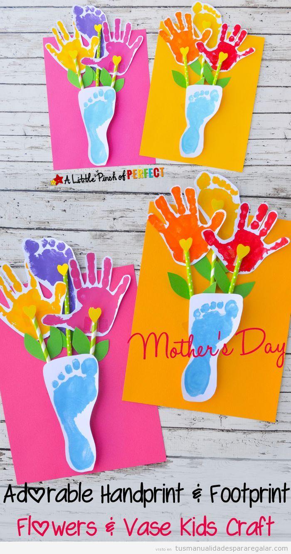 Manualidades fáciles niños para regalar a padres y madres 2