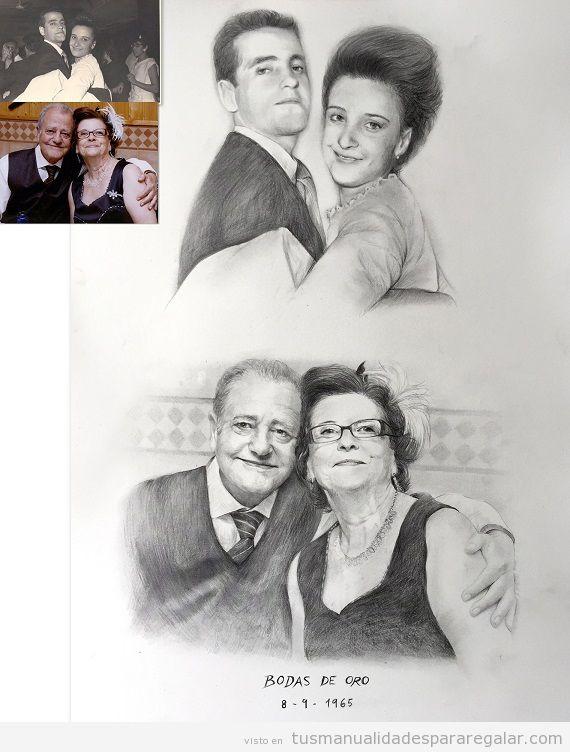 Retratos a lápiz por encargo 2