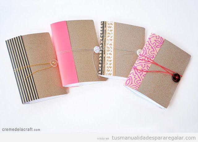 Libreta archivos manualidades para regalarmanualidades - Regalos navidad para padres ...