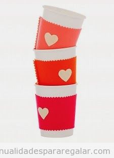 Ideas manualidades fieltro para regalar en San Valentín