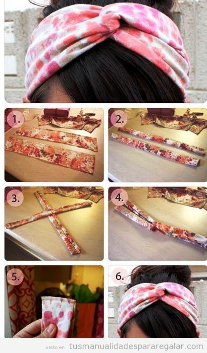 Diadema archivos manualidades para regalarmanualidades for Diademas de tela para el cabello