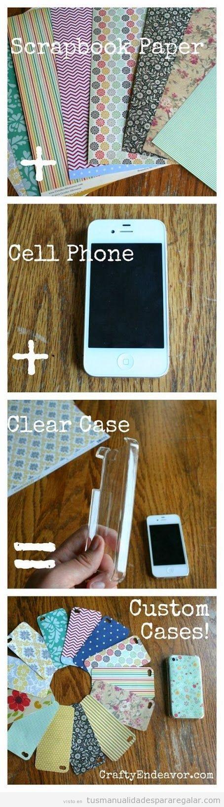 Tutorial para personalizar carcasas móvl