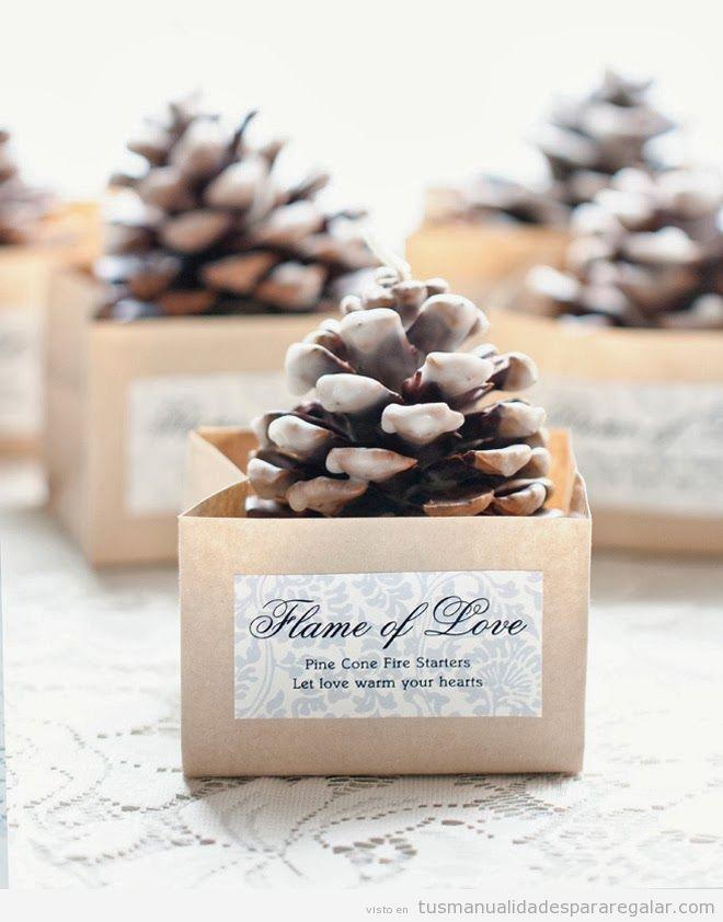 Manualidades regalar invitados en boda 3