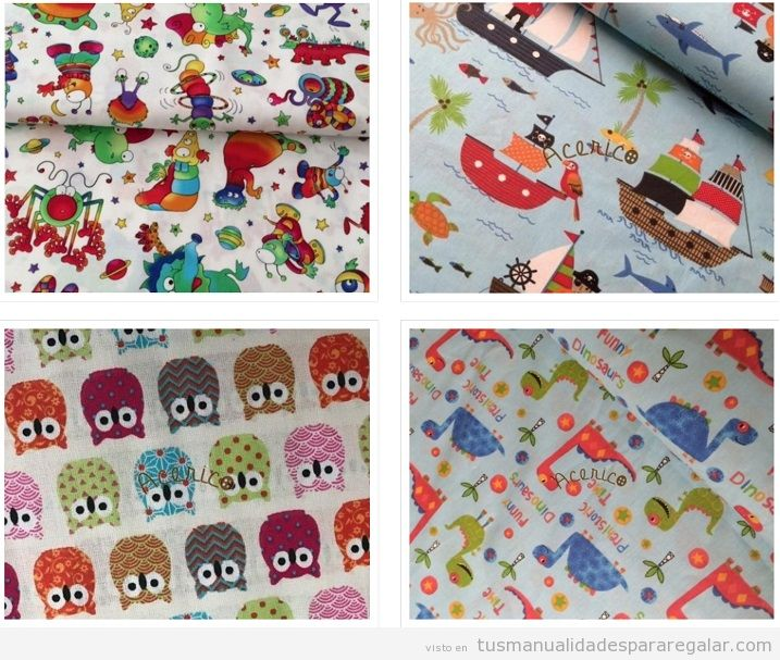 Comprar telas infantiles online