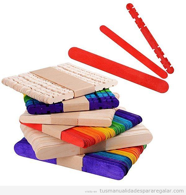 Comprar palitos polo o palos madera para manualidades