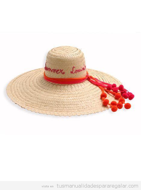 Sombreros DIY pompones 3