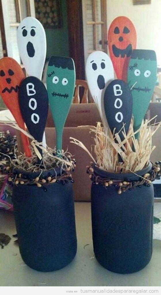 Manualidades regalar Halloween, decoración de casa 3