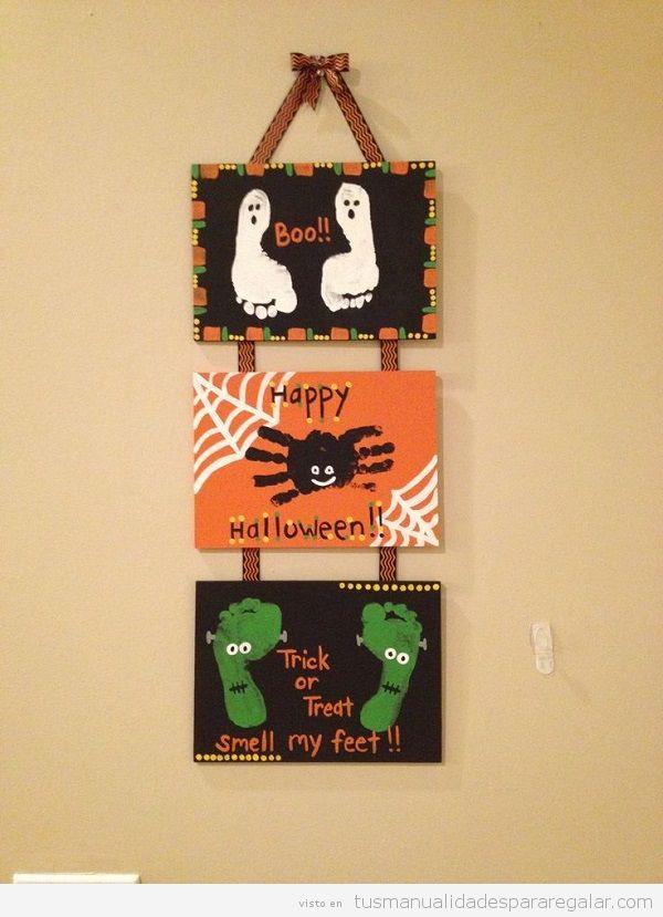 Manualidades regalar Halloween, decoración de casa