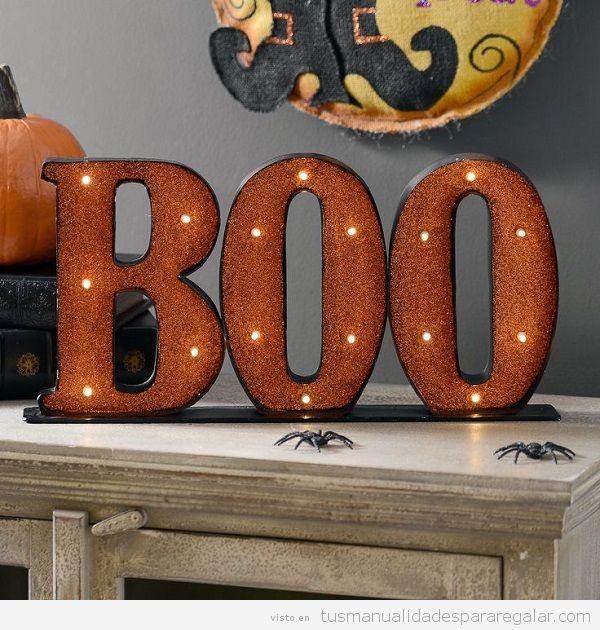Manualidades regalar Halloween, decoración de casa 2
