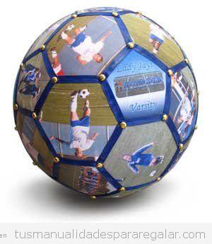 Regalos hechos a mano fútbol 8