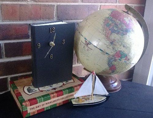 Manualidades para regalar a hombres en Navidad, reloj