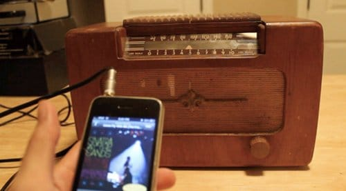 Manualidades para regalar a hombres en Navidad, radio antigua altavoz