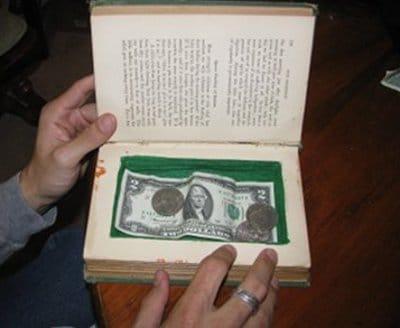 Manualidades para regalar a hombres en Navidad, libro secreto