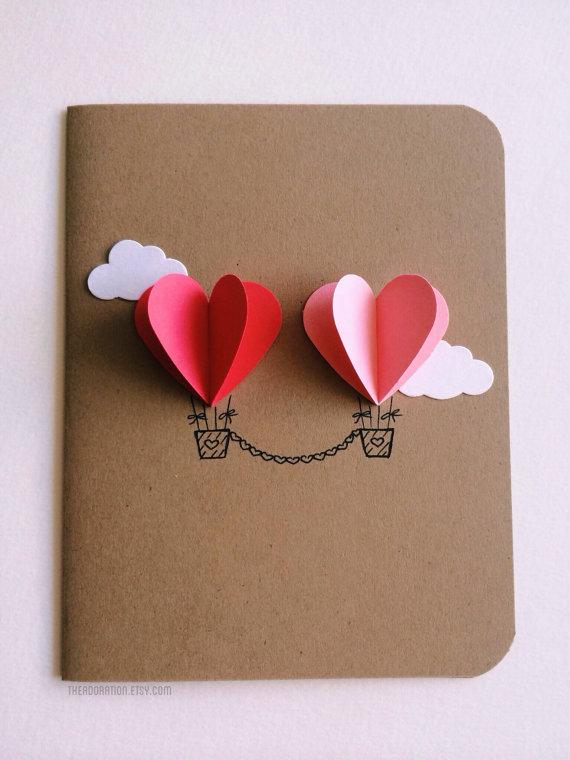Tarjetas San Valentín DIY