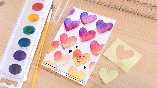 Tarjetas San Valentín DIY 8