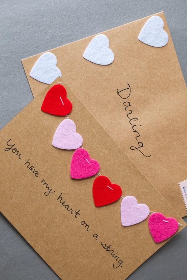 Tarjetas San Valentín DIY 9