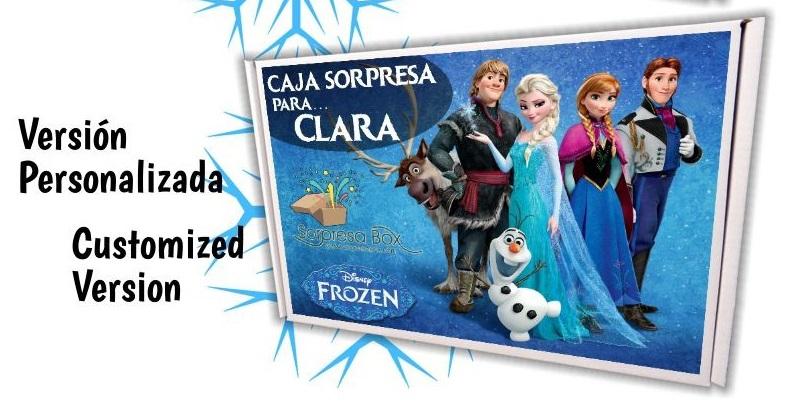 Caja sorpresa Frozen