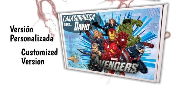 Caja sorpresa Los Vengadores