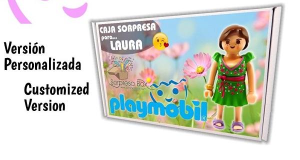 Caja sorpresa Playmobil Niña