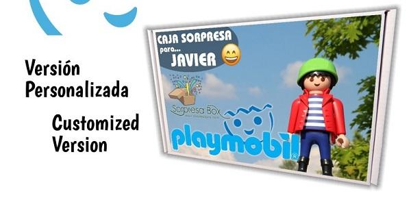 Caja sorpresa Playmóbil Niño