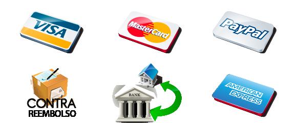 Formas pago Internet