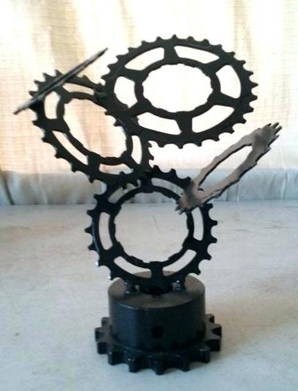 Figuras de metal soldado DIY 3