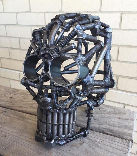 Figuras de metal soldado DIY 6
