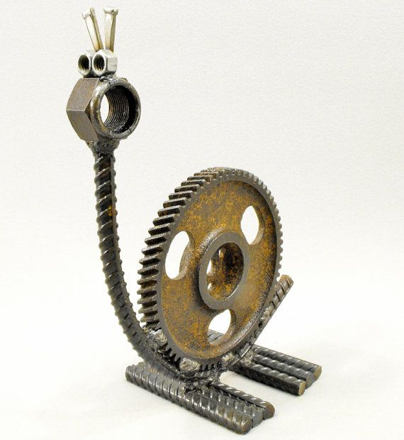 Figuras de metal soldado DIY 7