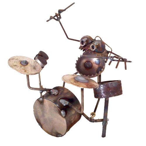Figuras de metal soldado DIY 8