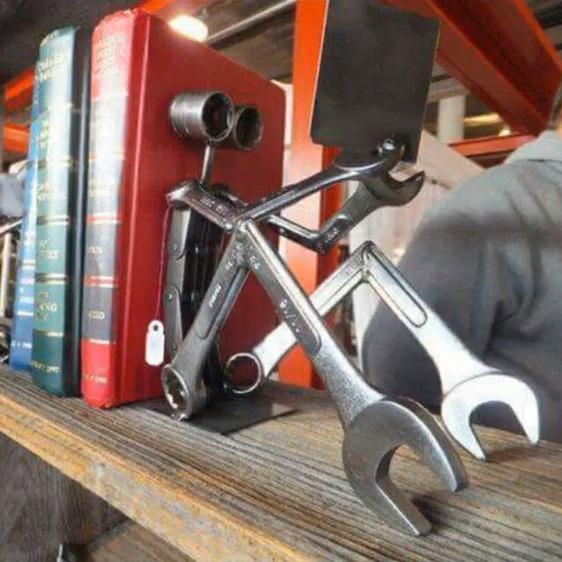 Figuras de metal soldado DIY 9