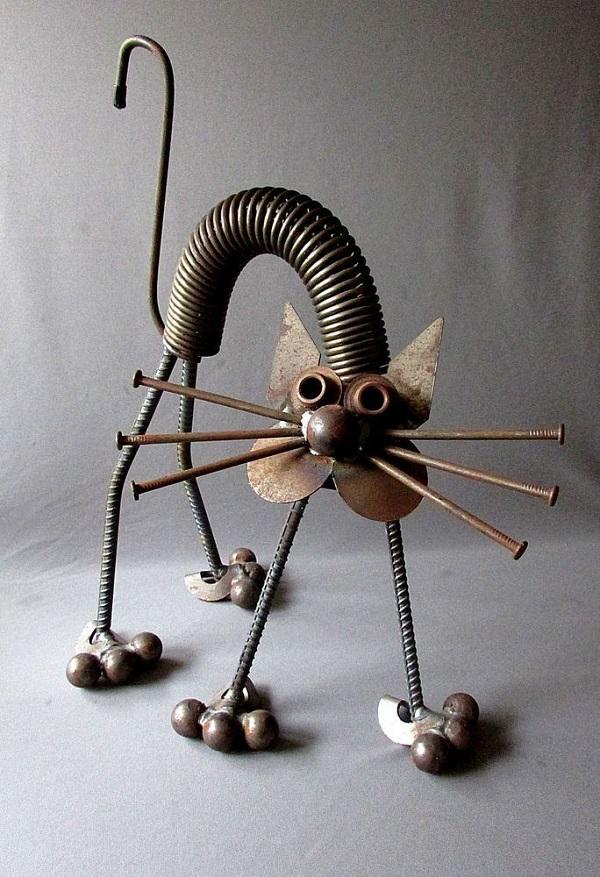 Figuras de metal soldado DIY 10