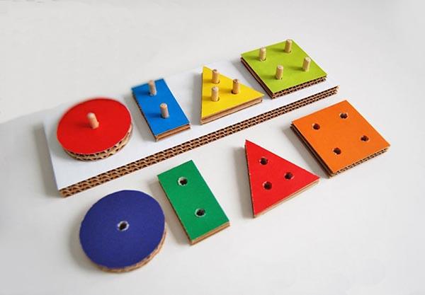 Juguetes DIY niños, formas