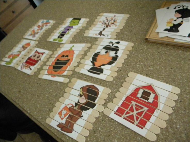 Juguetes DIY niños, puzzle