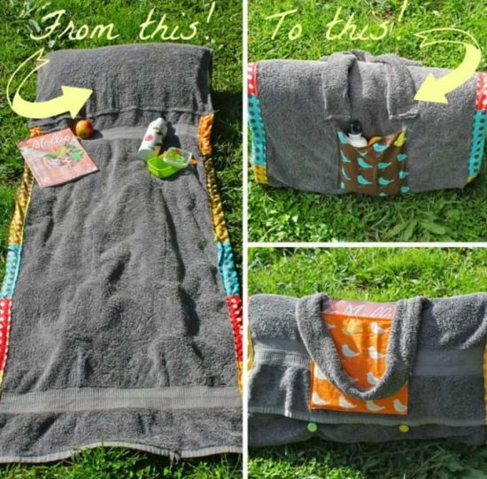Bolso toalla 8