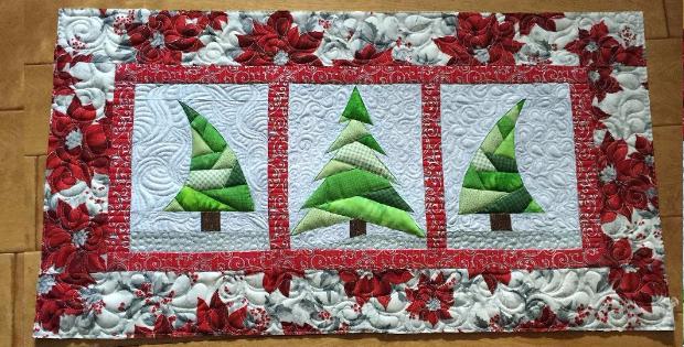 Camino de mesa patchwork Navidad