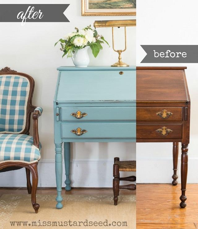 Cómo restaurar mueble antiguo, antes y después