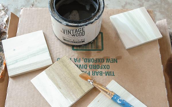 Posavasos DIY madera y falso mármol paso 2