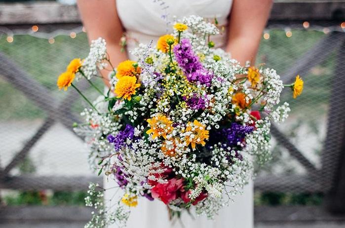 Ramo novia flores silvestres