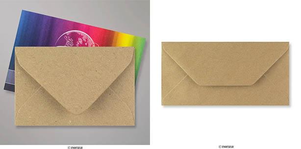 Sobres papel kraft reciclado