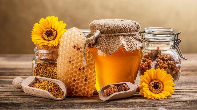 Ideas regalos naturales, miel y polen