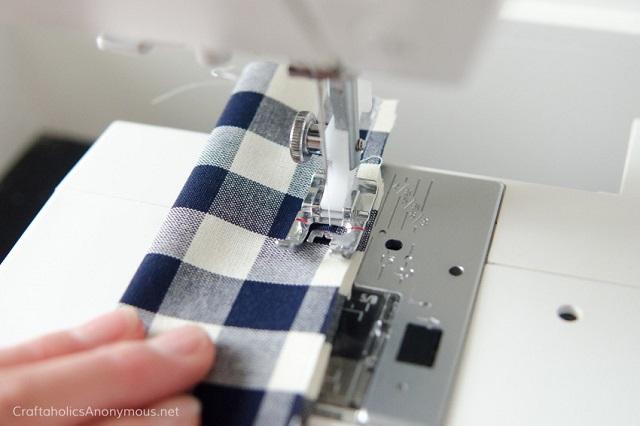 Tutorial coletero de tela DIY, paso 2