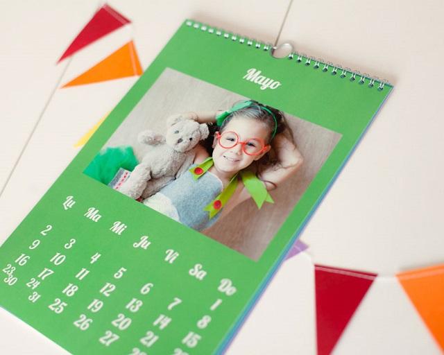 Calendario personalizado impreso